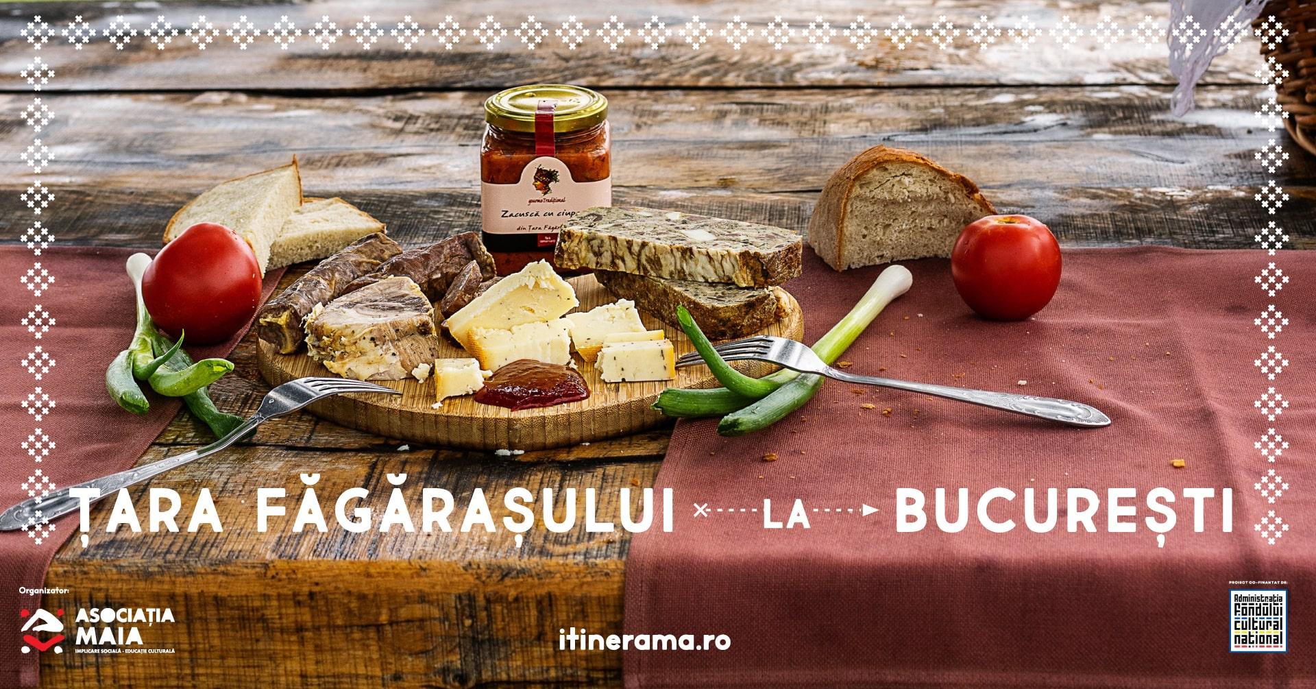 Prânz cu Itinerama: Brânzeturi locale din Țara Făgărașului