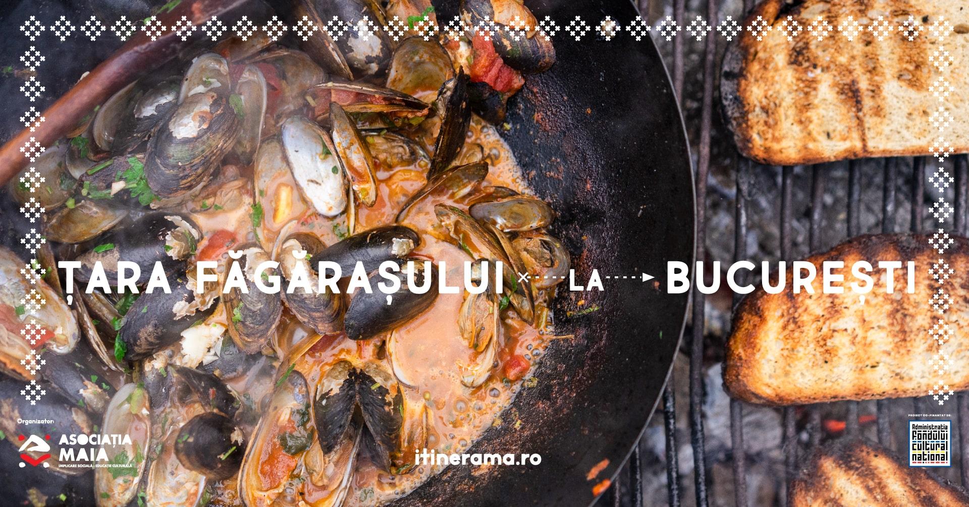 Cină cu Itinerama: Din apele Țării Făgărașului – pește, pui de baltă, crustacee